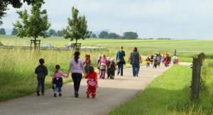 Waldkindergarten Spaziergang