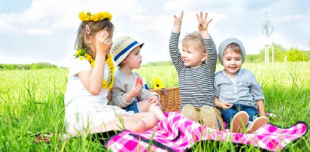 Picknick mit Kindern – der Spaß für die ganze Familie