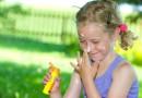So schützen Sie Ihr Kind vor einem Sonnenbrand