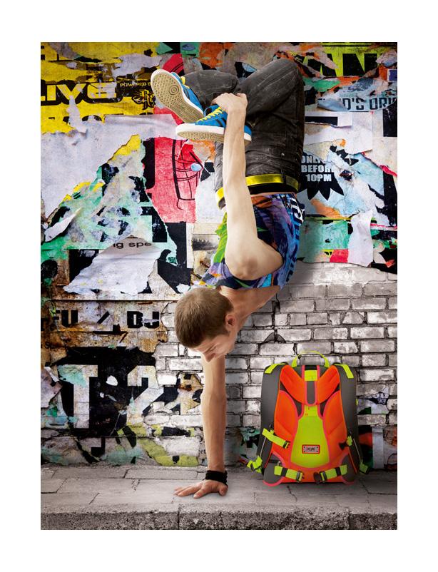 Breakdancer mit iKON Rucksack2