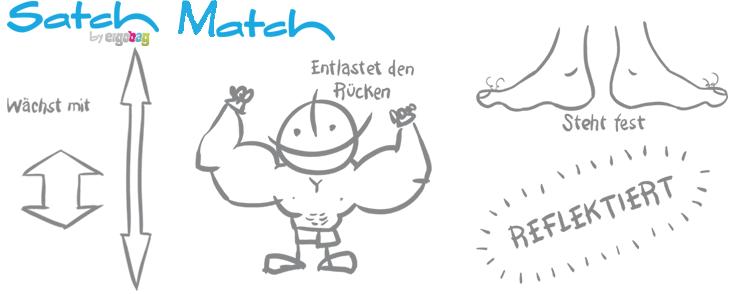 Vorteile Satch Match