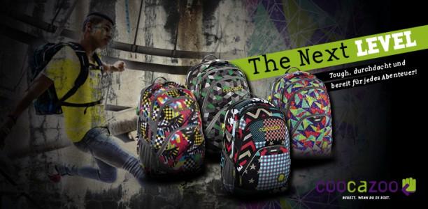The Next Level – die neue Schulrucksack Kollektion von Coocazoo!