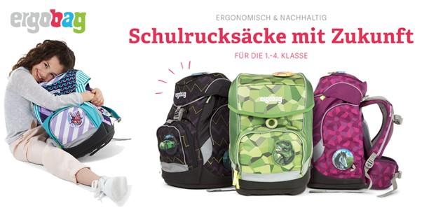 Eine Schultasche für die gesamte Grundschulzeit? Mit ergobag garantiert!