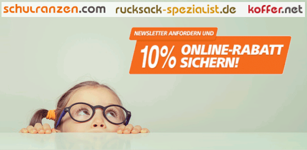 10 % Newsletter-Rabatt auf Ihren Einkauf