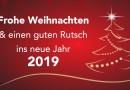 Frohe Weihnachten und ein schönes neues Jahr